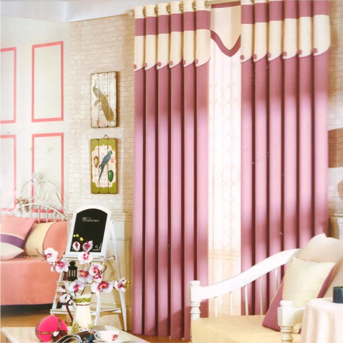 rideaux occultants dans le salon