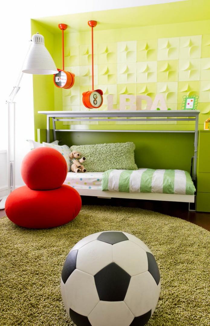 Enfants jaune-vert