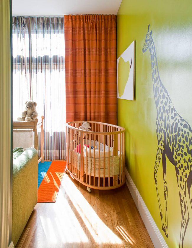 L'orange est la deuxième couleur la plus populaire pour les enfants