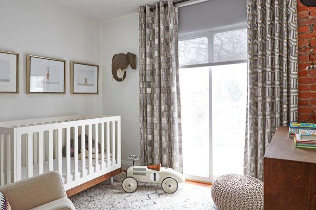 Imprimé géométrique - idéal pour les intérieurs minimalistes et légers pour les enfants