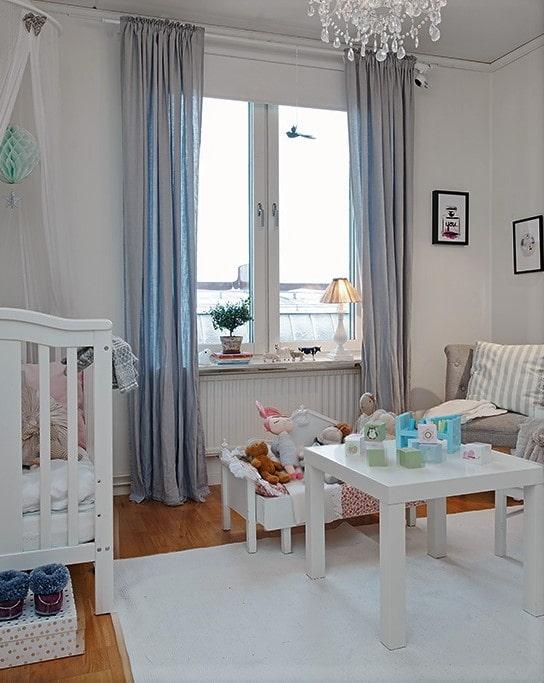 rideau pour chambre d'enfant