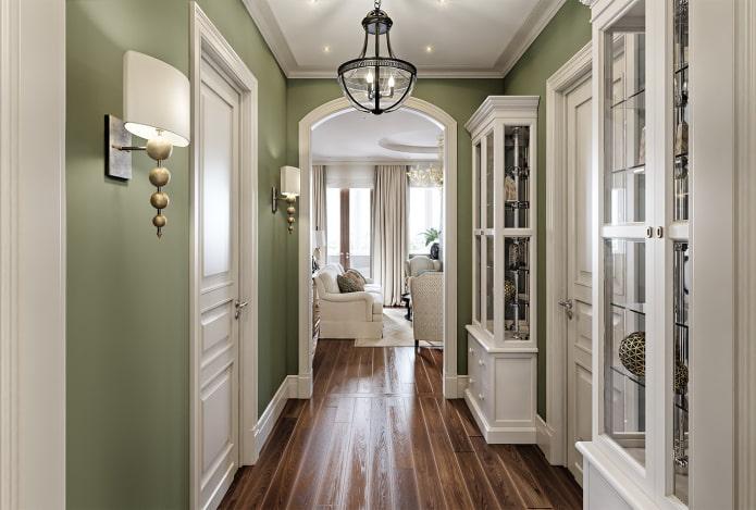 arc entre le salon et le couloir