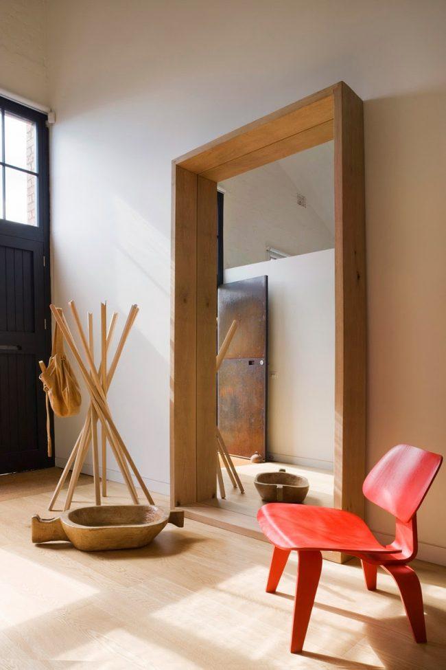 Idéal pour un miroir dans le couloir de style ethno