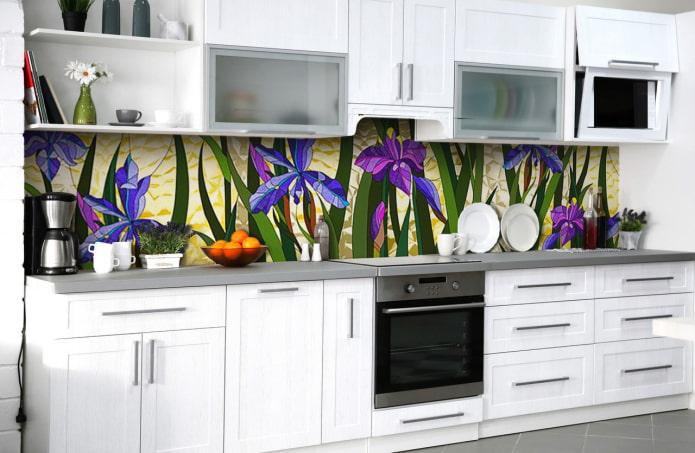 tablier pour fleurs de cuisine