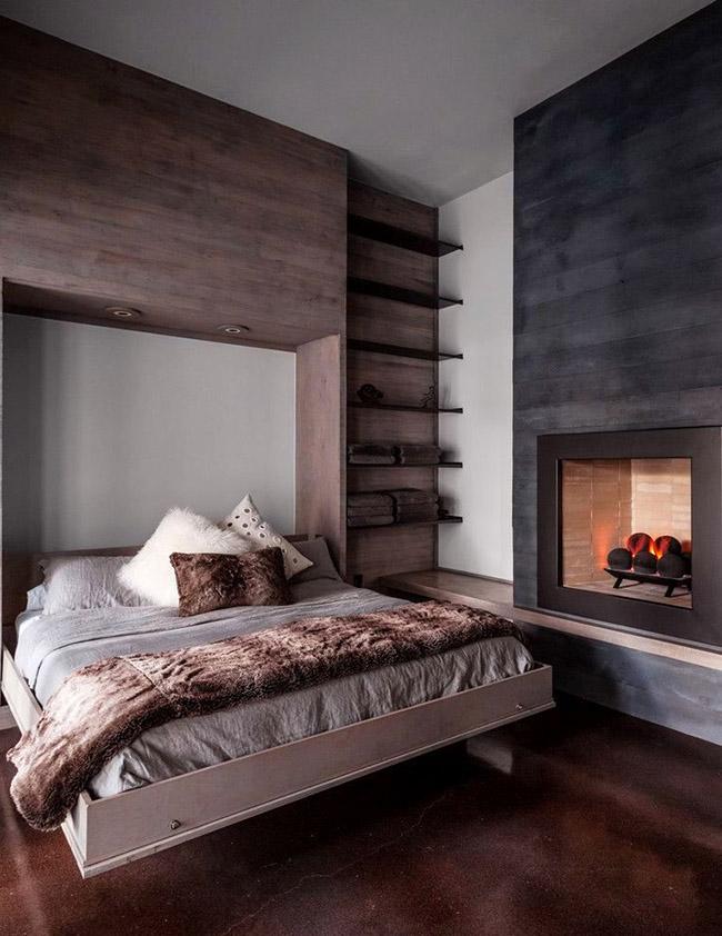 Un lit en bois neutre pour un sommeil confortable et sain