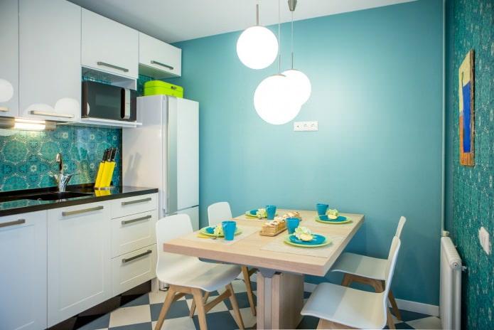 cuisine bleue
