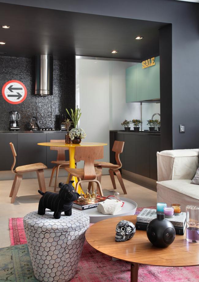 L'une des options les plus populaires et pratiques pour la décoration de petits appartements