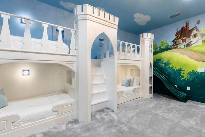 serrure de lit superposé dans la pépinière