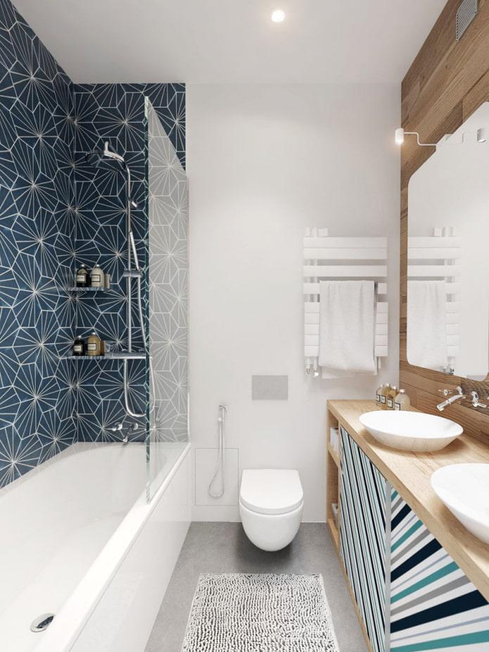 carrelage salle de bain moderne