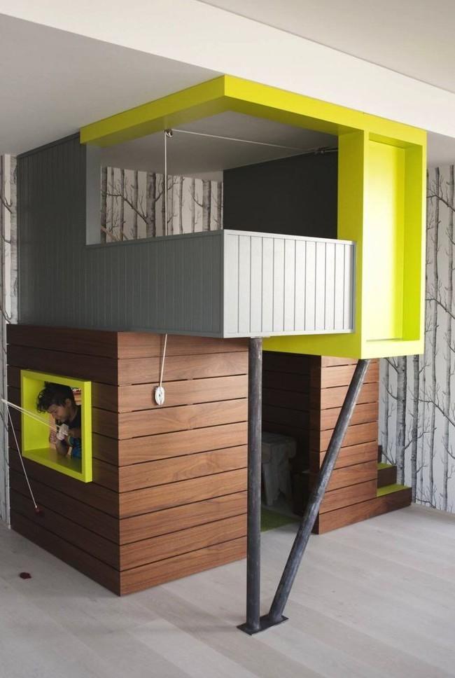Playhouse avec un design de façade moderne