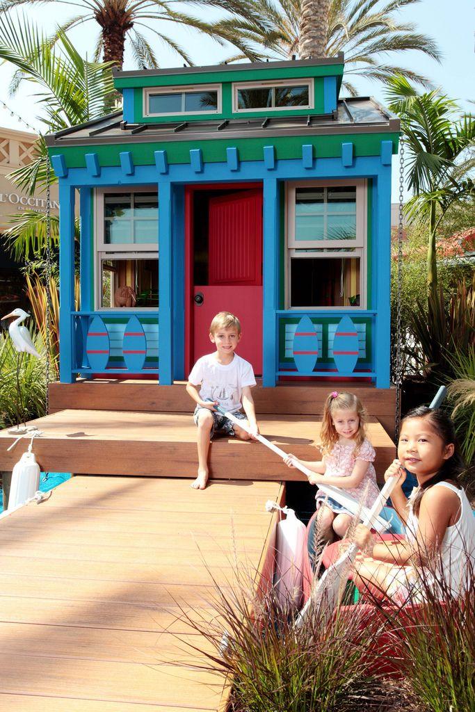 Playhouse - une excellente activité de loisirs pour les enfants
