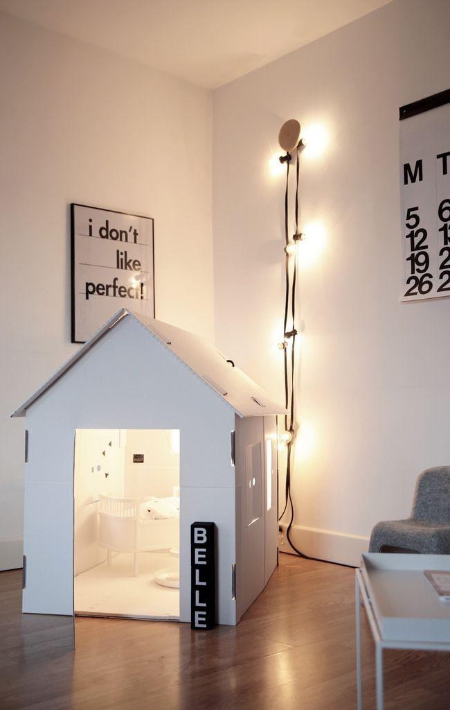 Petite maison blanche confortable