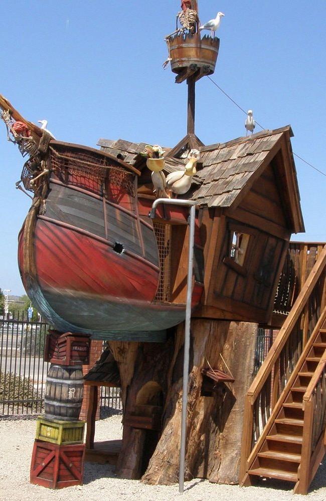 Playhouse - bateau pirate