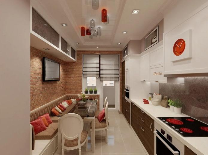 cuisine rectangulaire
