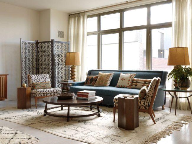 La table basse vintage est le meilleur choix pour un salon de style moderne et campagnard