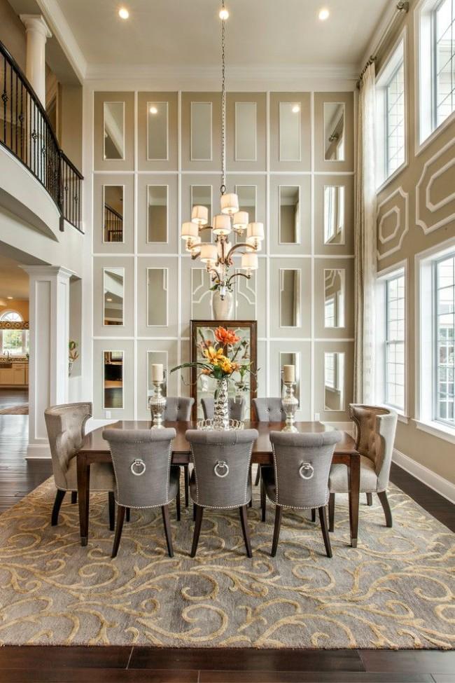 Miroirs de salon de style classique