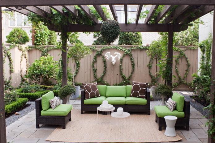meubles de patio