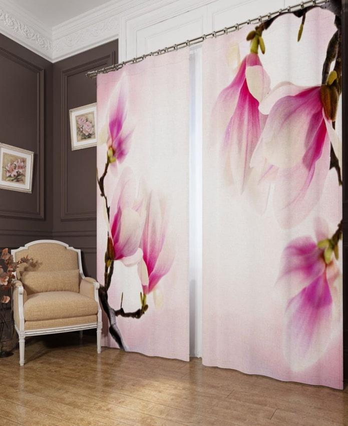 séances photo avec l'image des fleurs