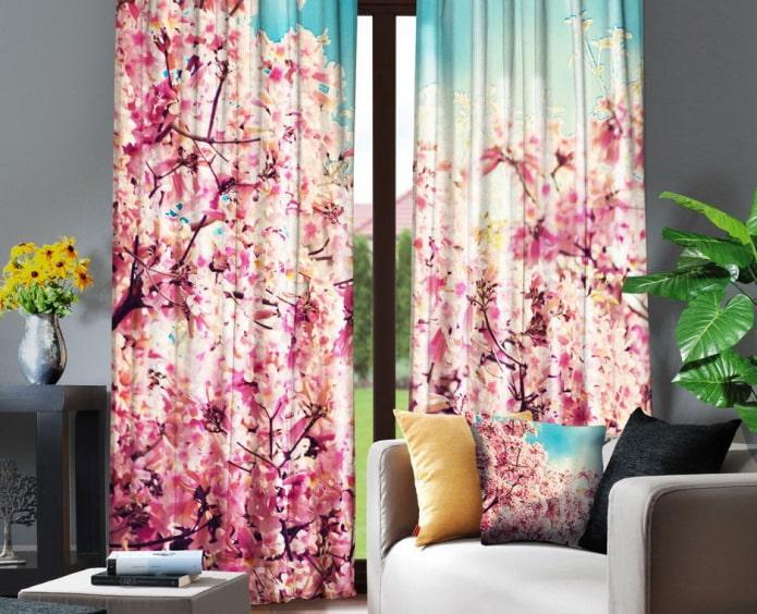 rideaux sakura