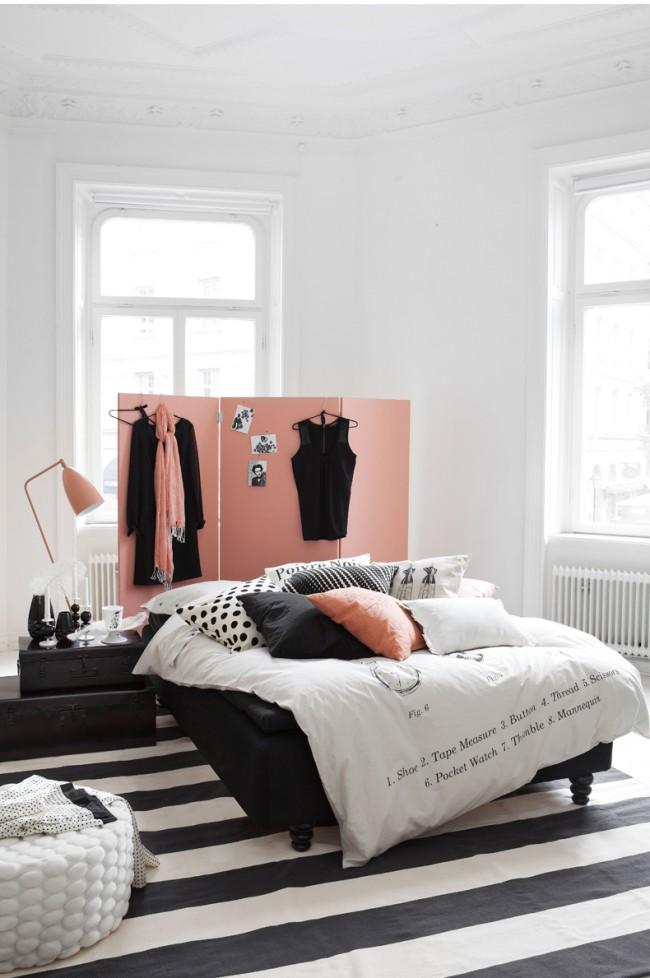 Tout d'abord, les meubles de la pièce doivent être placés de manière à ce que rien ne gêne le mouvement