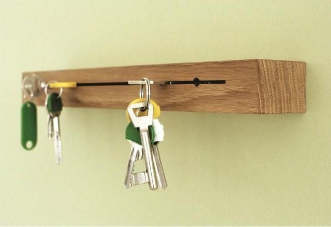 Porte-clés simple et pratique d'un bar
