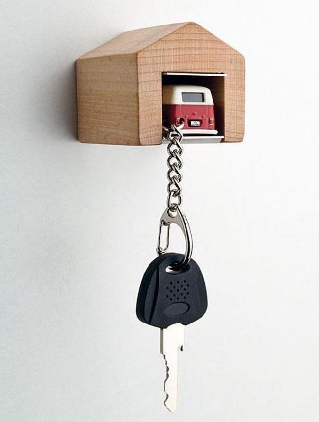Porte-clés-garage pour porte-clés