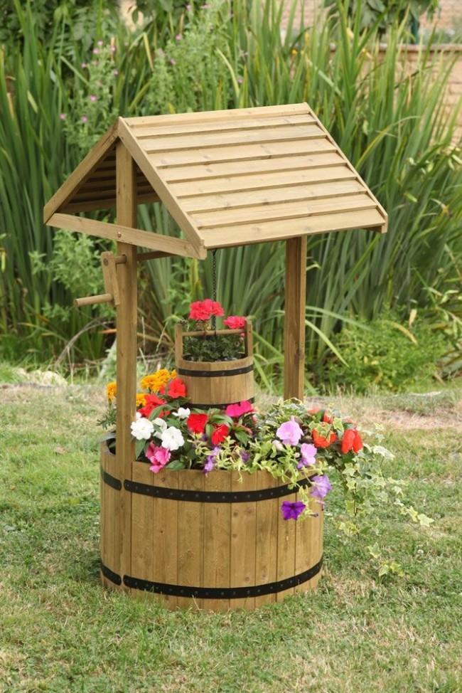 Un beau puits décoratif ne cessera de ravir votre oeil
