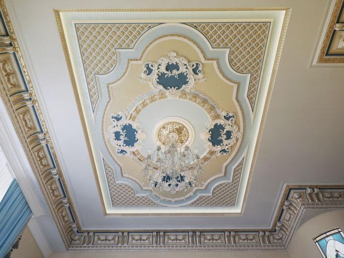 panneau au plafond
