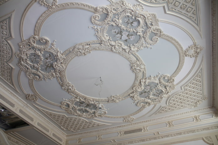 soulagement du plafond