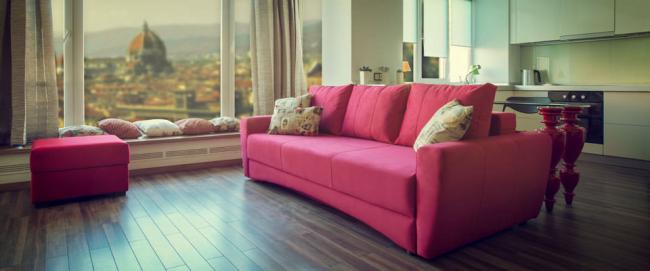 Le canapé Eurobook est parfait pour un studio