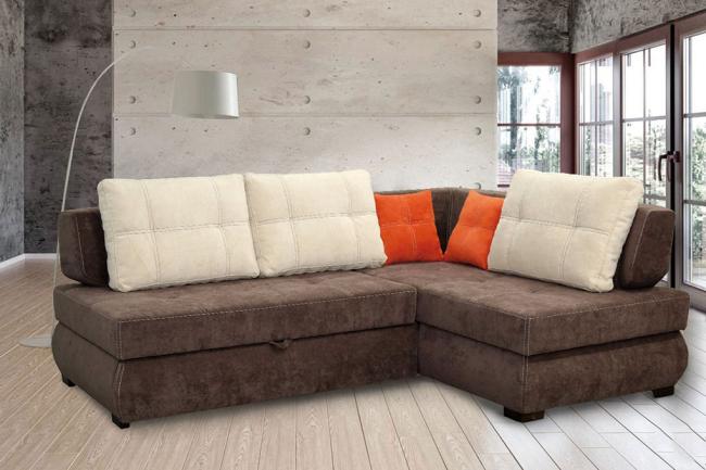 Rembourrage de canapé de haute qualité dans une couleur sombre et pratique