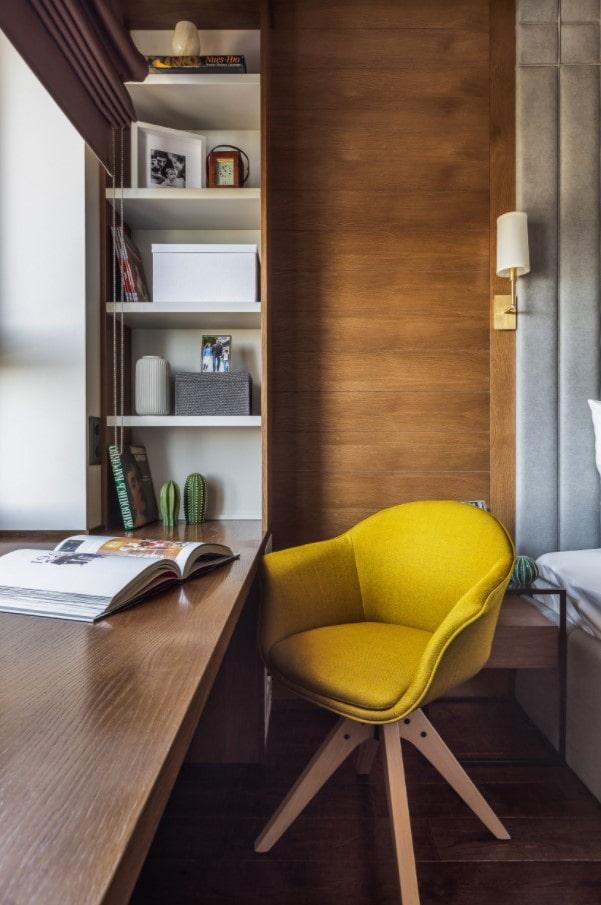 aménagement d'un bureau dans la chambre