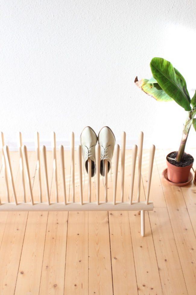 Remplacement de l'étagère - étagère à chaussures maison