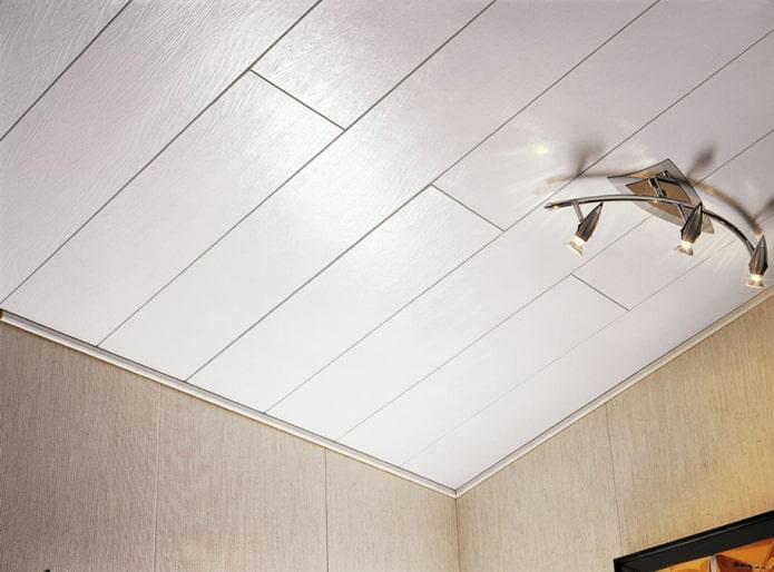 panneaux en plastique de plafond