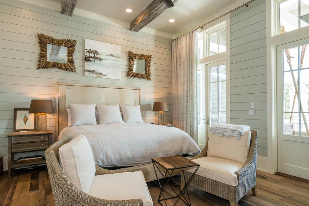 Le design de style champêtre donnera à votre chambre une sensation de confort
