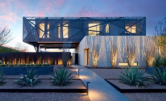 Conception de maison ultra-moderne à Las Vegas
