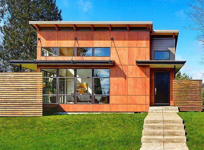 Les panneaux en fibre de bois sont reconnus comme les plus durables pour le revêtement de la maison