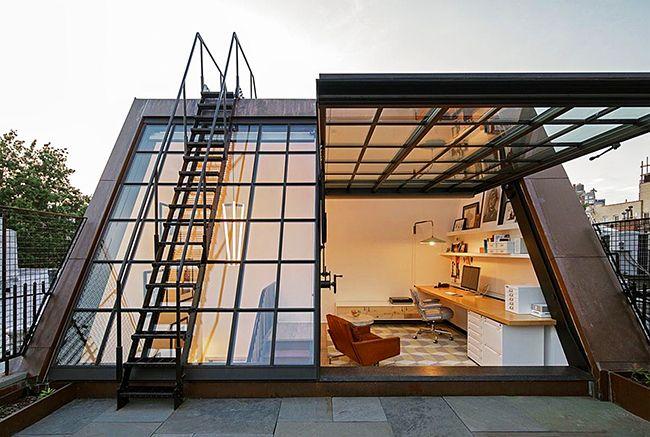 Les panneaux de façade en verre vous permettent de créer des maisons avec une architecture et un revêtement sur mesure