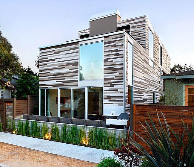 Grâce à la finition des façades avec des panneaux en polyuréthane, tout bâtiment acquiert un aspect élégant et respectable
