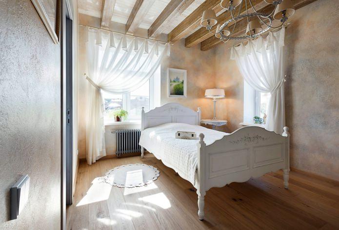 rideaux blancs en coton