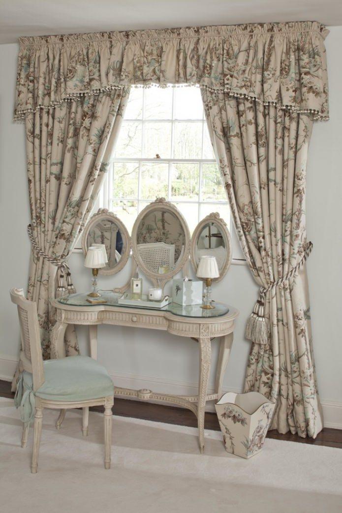rideaux occultants dans un style campagnard