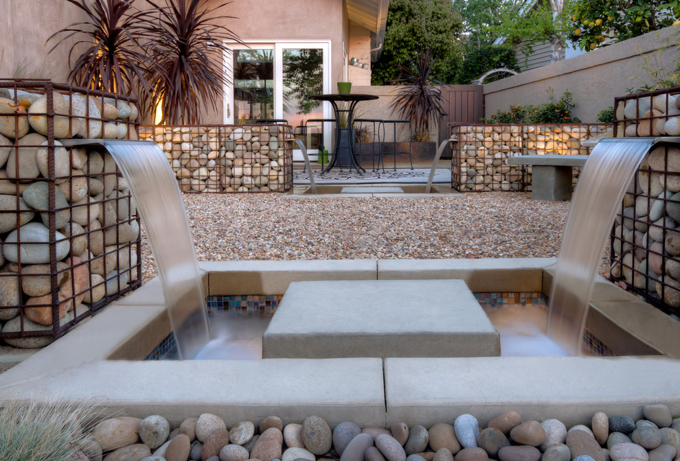 L'aspect classique des gabions en blocs -