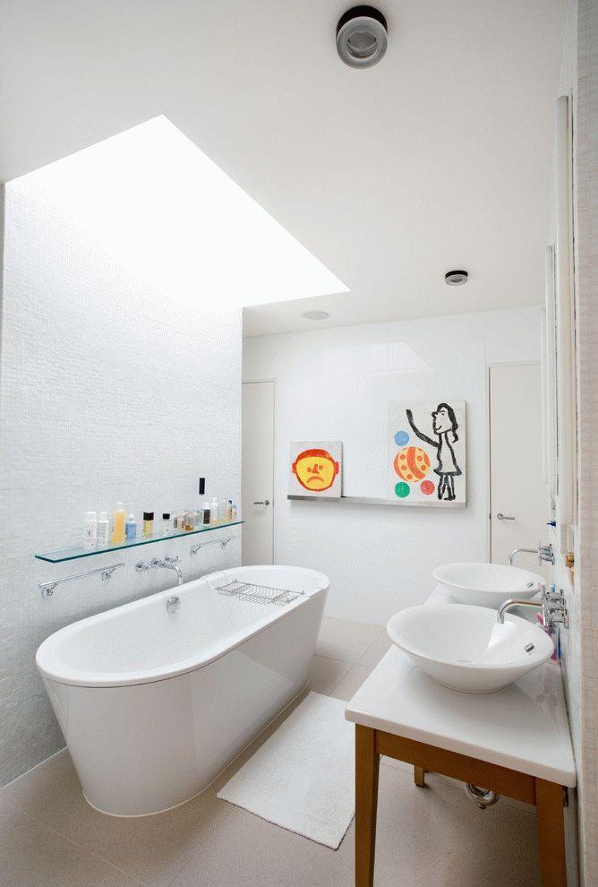 Portes de salle de bain blanches