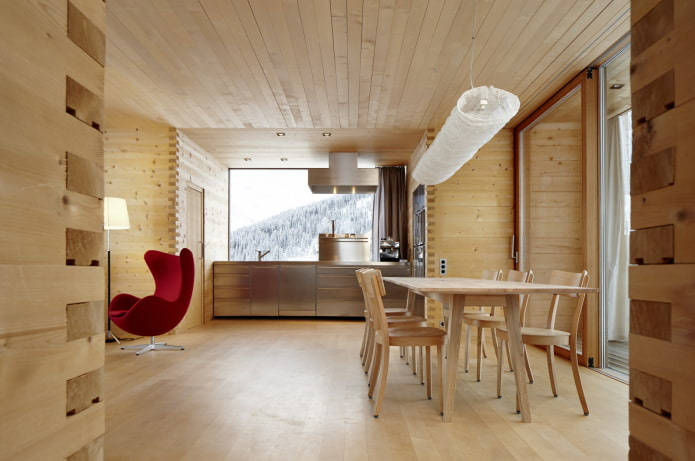 revêtement de plafond à l'intérieur
