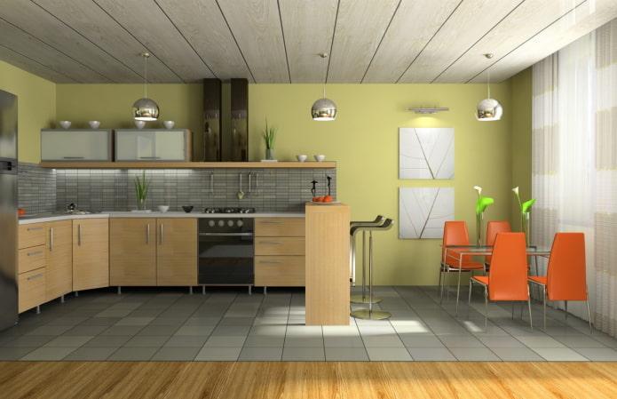 panneau en bois mdf pour cuisine