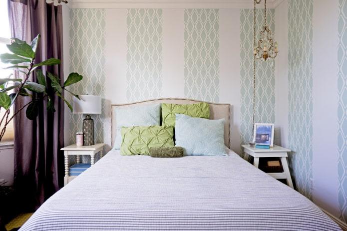 papier peint papier simplex dans la chambre