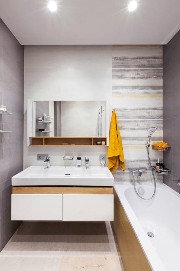 accents lumineux pour la salle de bain