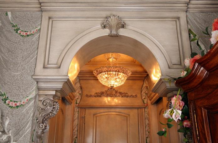 décor d'arche vintage