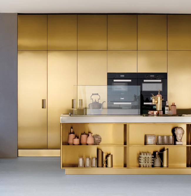 Les meubles aux tons feutrés s'intégreront parfaitement dans un intérieur moderne