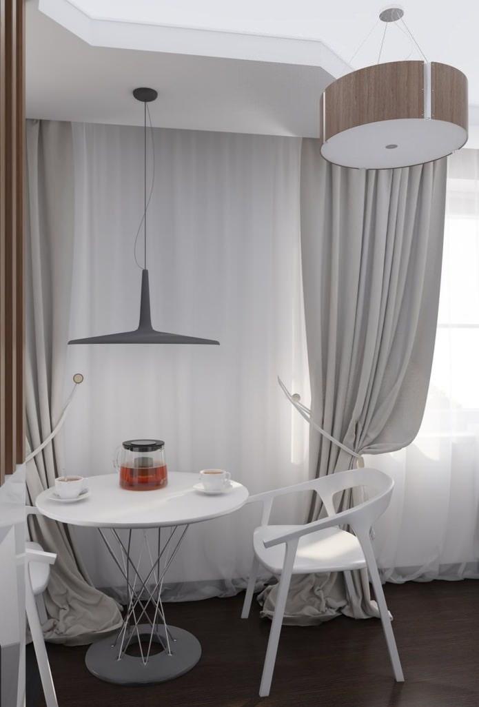 cuisine à l'intérieur d'un appartement de 54 m².  m.